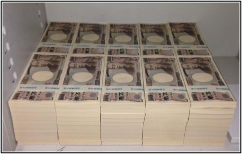 1億円の札束画像