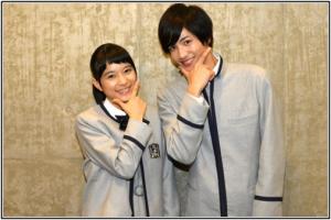 芳根京子と志尊淳の画像