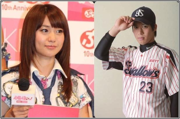 大島優子と山田哲人の画像