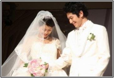 安田美沙子と下鳥直之の結婚式の画像