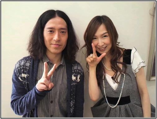 ピース又吉と森口博子の画像