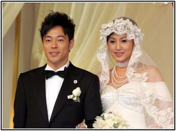 陣内智則と藤原紀香の結婚式画像