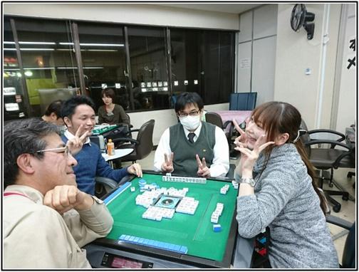 大崎初音プロの麻雀教室の画像