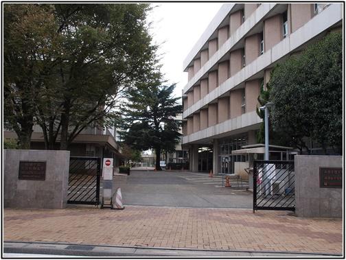 桐朋女子高校の高校校舎の画像