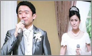 えなりかずきさんの結婚式の画像