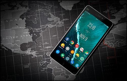 携帯電話の画像