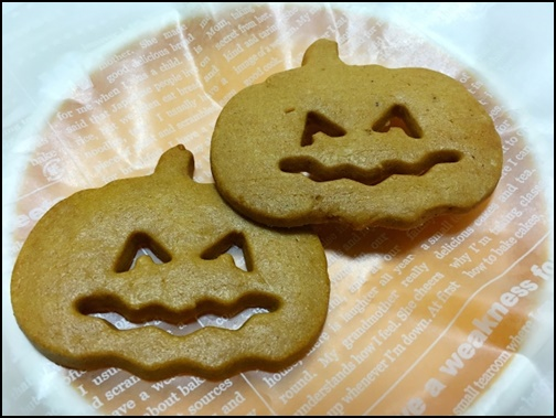 ハロウィンのクッキー画像