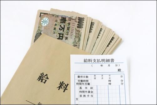 給料袋の画像