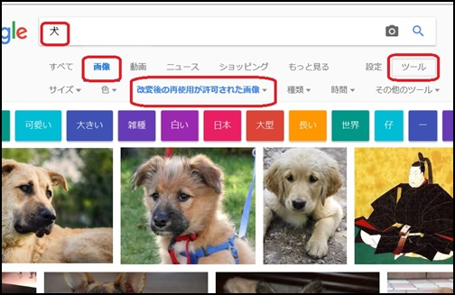 Google検索の画像