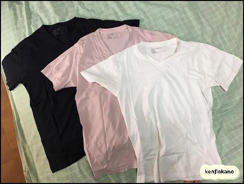 GUのTシャツの画像