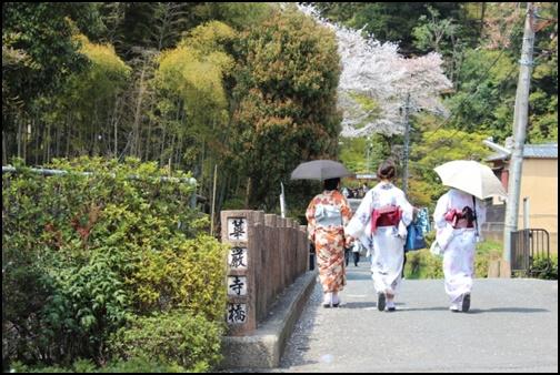 京都の散策の画像