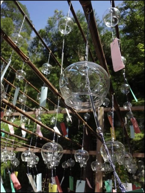 正寿院の風鈴祭りの画像