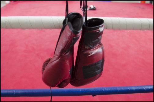 ボクシンググローブの画像