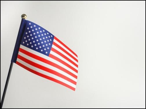 アメリカ国旗の画像